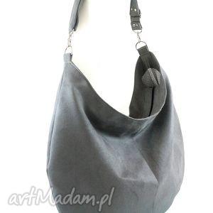 Sack gray - ,torebka,hobo,worek,
