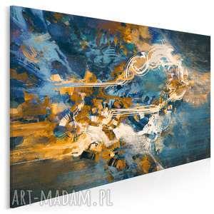 obraz na płótnie - abstrakcja nowoczesny 120x80 cm 22202