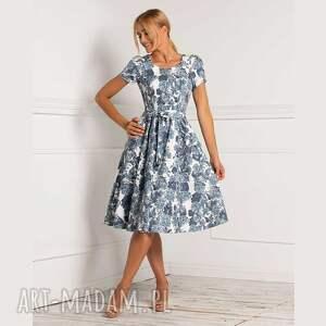 sukienki sukienka anita midi cameron, midi, rozkloszowana, na lato
