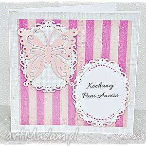 Prezent Kochanej Pani...kartka dla Nauczyciela, kartka, dzień, nauczyciela, prezent