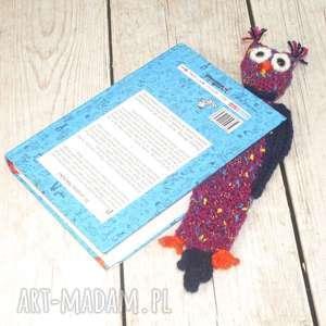 sowa - zakładka do książki, książka, czytanie, sówka, sowy, prezent, zakładka