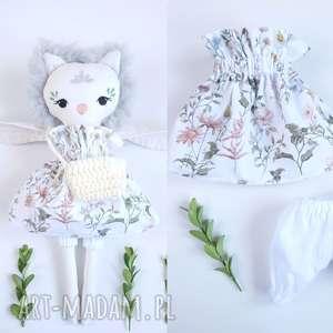lalka sowa hania, sowa, owl, przytulana, eko, futerko, lalka, prezent na święta
