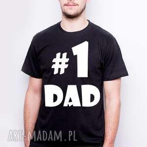 Koszulka t-shirt męska #1dad koszulki tailormade dla taty