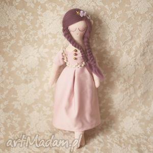 hand-made zabawki fioletowa bajka - lalka dalia