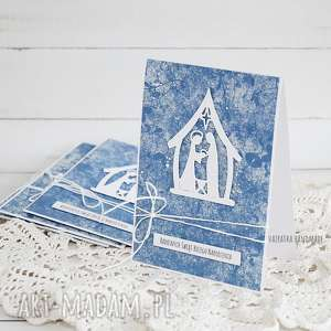 Kartka ze stajenką, 374 - ,boże-narodzenie,kartka,