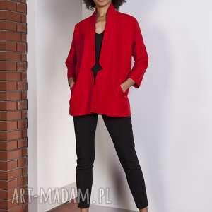 Casualowy żakiet, za114 czerwony marynarki lanti urban fashion