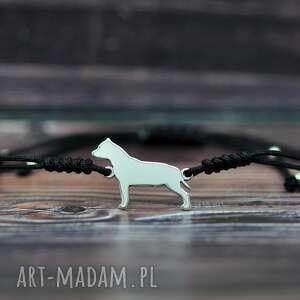 Amstaff amerykański staffordshire terier - bransoletka pasja