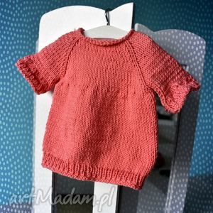 Tunika dla lalki misia 40 cm - ,tunika,sukienka,sweterek,ubranko,lalka,miś,