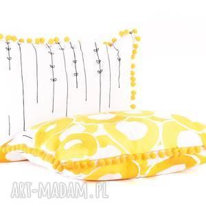 ręcznie robione poduszki poduszka dekoracyjna słoneczne lato 40x60cm
