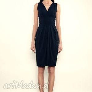 Pamela 2 - Black, mini, jersey, sukienka