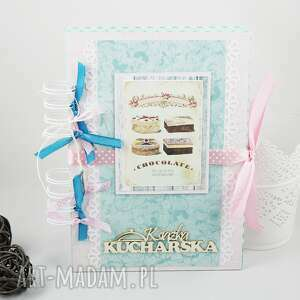 hand made scrapbooking notesy książka kucharska