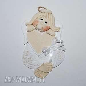 pokoik dziecka dla grażki - aniołek, anioły, dekoracja, prezent, chrzciny