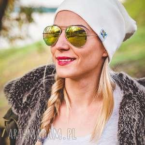 Ecru New York Long, jesień, zima, czapka, beanie