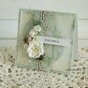 W dniu urodzin, kartka w pudełku, 214 - ,urodziny,prezent,kartka,podziękowanie,