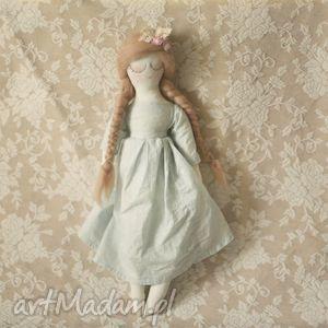 miętowa bajka - lalka mgiełka - lalka, wróżka, baletnica, kwiaty, wianek