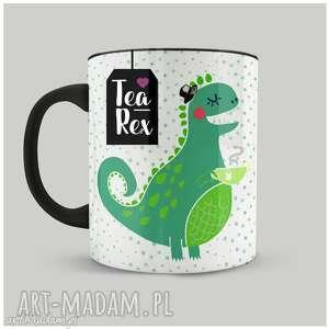 wyjątkowy prezent, kubek tea-rex, kubek, personalizacja, herbatka, dinozaur