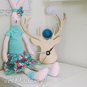 Królik - Ania, przytulanka, lalka, królik, zabawka, przyjaciel
