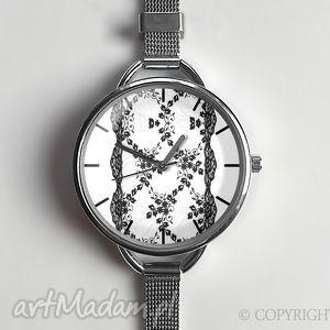 Koronka - Zegarek z dużą tarczką 0873WS