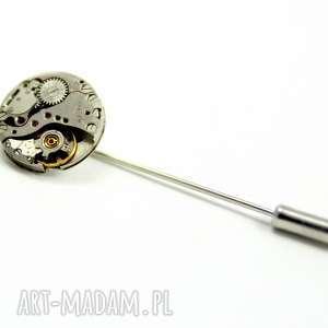 PIN - ROUND I, pin, rękodzieło, mechanizm