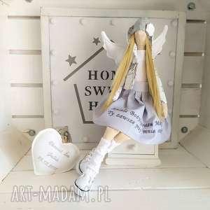 Anioł chrzest święty stróż modlitwa lalki fabryqaprzytulanek