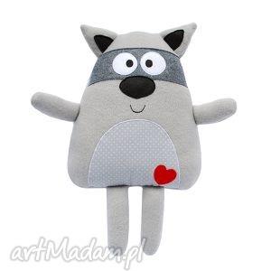 szop - polarowa zabawka, szop, przytulanka, maskotka, polar, mięciutka