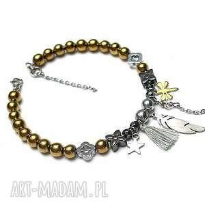 alloys collection /cyganeria gold/ 16 02 18, zawieszki, boho, ki ka, kamienie