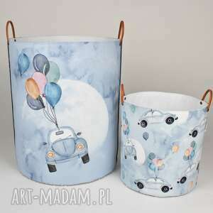pokoik dziecka komplet dwóch pojemników z garbusem, garbus, pojemnik, dladzieci