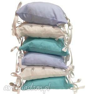 poduchowy ochraniacz lamado 6 częściowy, poduchowy, poduszki, łóżeczka, łóżeczko