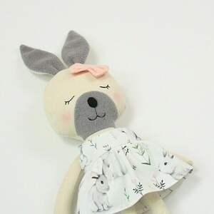 Lala przytulanka króliczka julia maskotki patchworkmoda lala