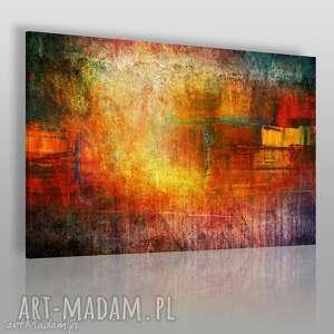 obraz na płótnie - abstrakcja sztuka 120x80 cm 58001, abstrakcja, nowoczesny