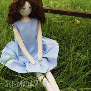 pod choinkę prezent, lalka #114, eko lalka, personalizowana, przytulanka