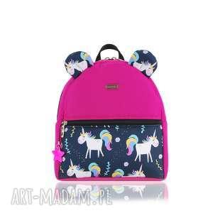 plecaczek farbiś 2268 r s, plecak, plecak dla dzieci, z uszami