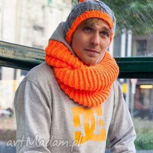 My Choice! Mechaniczna Pomarańcza, jesień, zima, czapka, włóczka