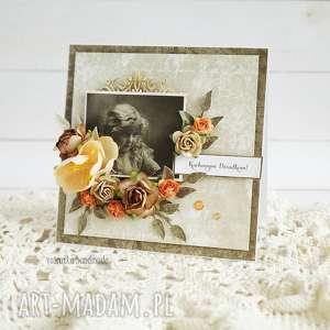Prezent Kochanym dziadkom (kartka w pudełku), babcia-i-dziadek, dzień-babci