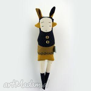 sziostra szi miodowa - lalka zabawka hand made, zwierzątko, przytulanka, prezent