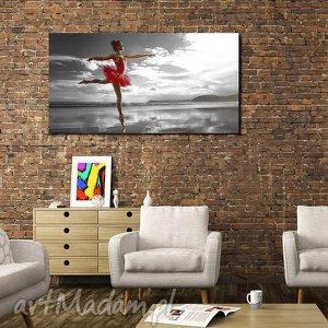 handmade obrazy obraz xxl baletnica 3 -120x70cm obraz na płótnie tancerka
