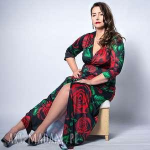 Królowa Róża - wieczorowa suknia PLUS SIZE, plus, size, suknia,
