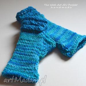 rękawiczki mitenki - rękawiczki, mitenki, wełniane, zimowe, jesienne