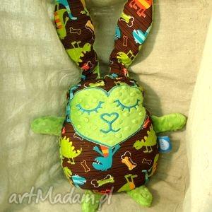 zając królik przytulanka - maskota, prezent, poducha