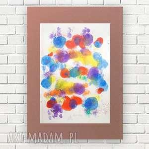kolorowa abstrakcja, abstrakcyjna grafika, nowoczesna