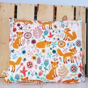 poduszka w liski 30x40, lis, liski, poduszka, skandynawska, dekoracyjna, podusia dla