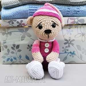 Śpioch wojtek - miś, przytulanka, prezent, bawełniany, zabawka, dziecko