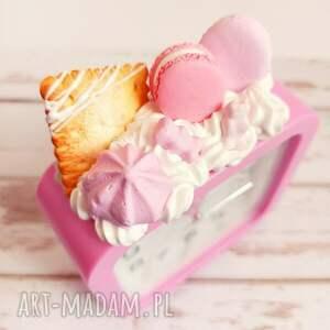 słodki budzik -beza, budzik, ciastko, słodycze, śmieszny gadżet, na prezent