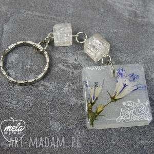 ręcznie zrobione breloki 0319~mela~ brelok do kluczy z żywicy rino kwiaty