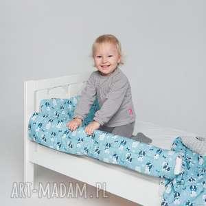 ochraniacz do łóżeczka łóżka ikea - buldożki - ochraniacz