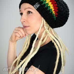 czapka dreadlove rasta 03, czapka, reggae, rasta, dready, długa, ciepła