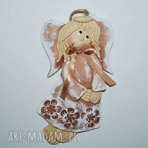 Taka monika - aniołek masy solnej dekoracje magosza aniołek