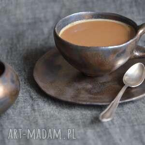 kubki złota filiżanka, ślub, prezent, kawa, herbata, rustykalne, orient, święta
