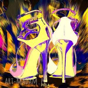 Art Jimmy 5, jimmy, szpilki, autorski, obraz, moda, nowoczesny