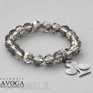 crystal with pendant in black diamond - kryształki, zawieszka